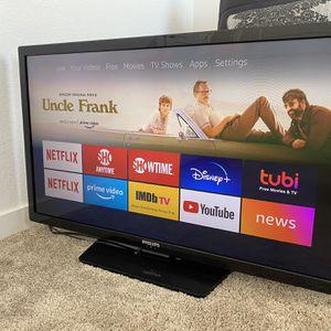 """39"""" Philips TV w/ Amazon Fire Stick for Sale in Sacramento, CA"""