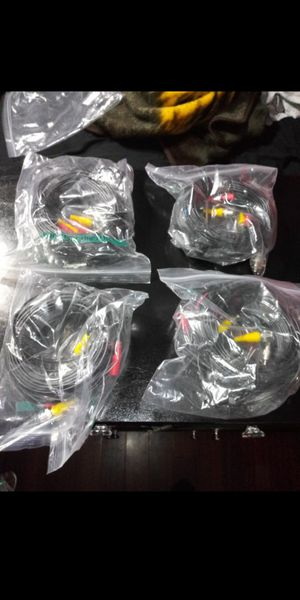 4 packs of Cable cameras 100ft brand new $20 each for Sale in West Palm Beach, FL