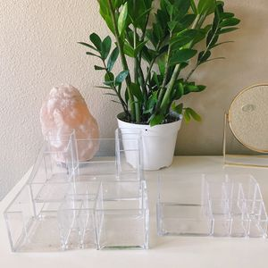 set of 2 acrylic makeup organizers for Sale in Paramount, CA