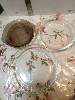Glass Pie Baking Dishes for Sale in Kissimmee, FL