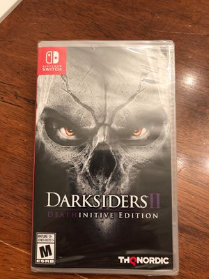 Nintendo Switch Darksiders 2 Deathinitive Edition NEW for Sale in Las Vegas, NV