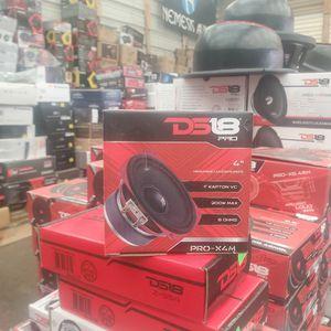 ds18 pro-x4m 4 inch midrange lous speaker for Sale in Dallas, TX