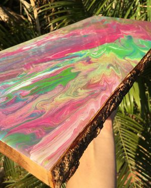Live edge resin art for Sale in HUNTINGTN BCH, CA
