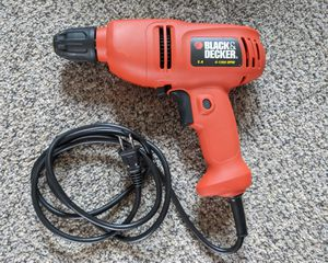 Black & Decker Drill with Case for Sale in Cheshire, CT