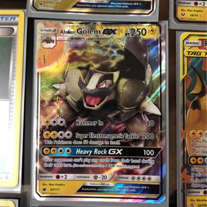 Alolan GOLEM GX! (Full Color-Holographic, MINT) 34/111 for Sale in Oakland, CA