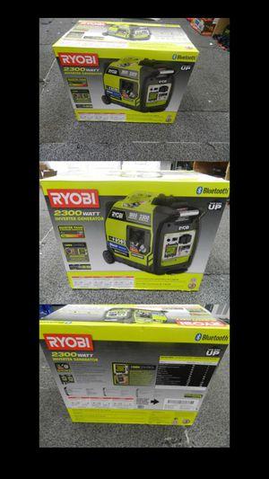 Ryobi 2300w super quiet Bluetooth generator for Sale in Brighton, CO