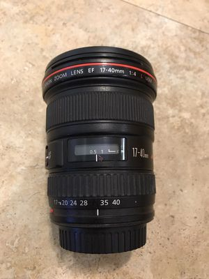 Canon 17-40mm L Series for Sale in Tempe, AZ