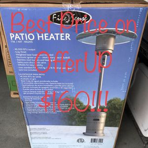 Firesense 46,000 BTU commercial patio heater ***PRICE IS FIRM*** for Sale in Upland, CA