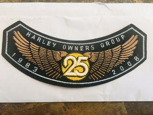 Harley Davidson Motorcycles Jacket Vest Patch #3 for Sale in Spring Hill, FL
