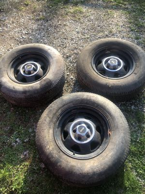 Jeep wheels. for Sale in Westerville, OH