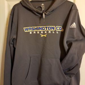 Hoodie, Adidas, Washington Baseball, New, XL, Gray for Sale in St. Louis, MO
