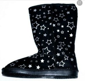 Airwalk Girls' Emma Star Cozy Boot Black Brand New for Sale in North Chesterfield, VA