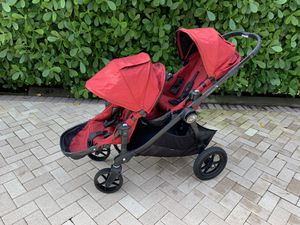 BABY JOGGER CITY SELECT DOUBLE TANDEM STROLLER for Sale in Coral Springs, FL