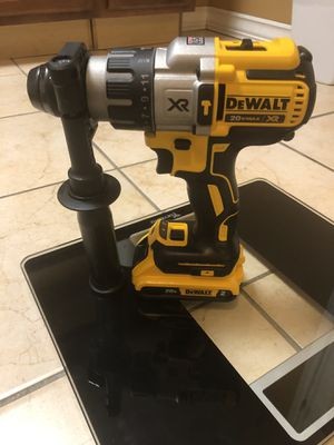 DEWALT 20-Volt MAX XR Lithium-Ion Cordless 1/2 in. Premium Brushless Hammer Drill With 2.0ah Battery for Sale in Laurel, MD