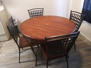 Industrial kitchen table for Sale in Camby, IN