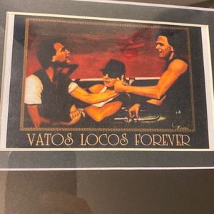 VATOS LOCOS FOREVER MOVIE CUSTOM FRAMED PRINT 11x13 for Sale in Aurora, CO