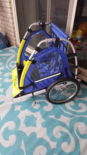2 Seats kids Bike Trailer for Sale in Lincolnia, VA