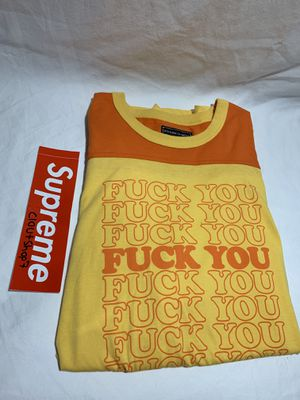Supreme hysterics glamour fuck you tee size XL for Sale in Hatfield, PA