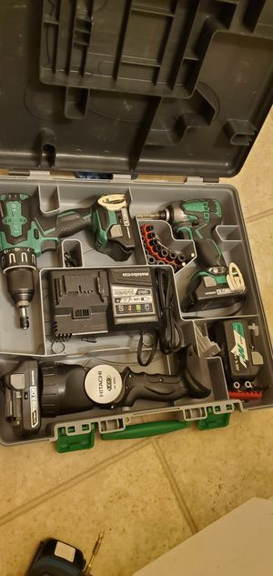 Hitachi Ultimate Set for sale for Sale in Victorville, CA