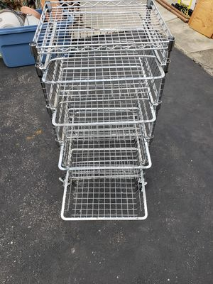 Metal shelving unit for Sale in Bloomingdale, IL