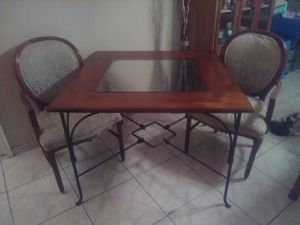 Dining Table and 2 Chairs for Sale in Miami, FL