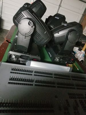 4 Anmingli 575 watt spot moving head 16ch - 500each Or ALL 4 for 2000 for Sale in Acampo, CA