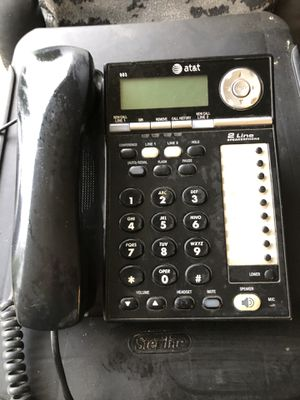 AT&T Dual Line Office Phone for Sale in Federal Way, WA