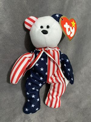 Teenie Beanie Baby, Spangle the Bear for Sale in Portland, OR