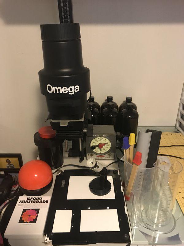 Omega c700 enlarger darkroom kit for Sale in Tampa, FL - OfferUp
