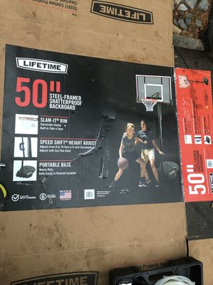 """Lifetime 50"""" Basketball Court NEW!! for Sale in Eagleville, PA"""
