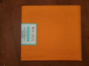 Orange 100% cotton fabric for Sale in Dixon, MO