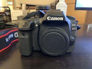 Canon 80D for Sale in Valparaiso, FL