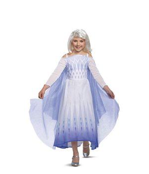 Kids' Deluxe Disney Frozen 2 Elsa Halloween Costume Dress S (4-6x) ***New without tag*** for Sale in El Monte, CA