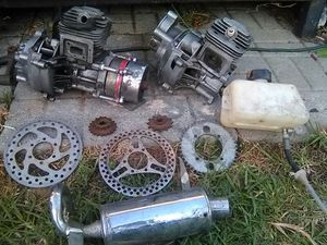 Mini bike, go ped motors and parts for Sale in Richland, MO
