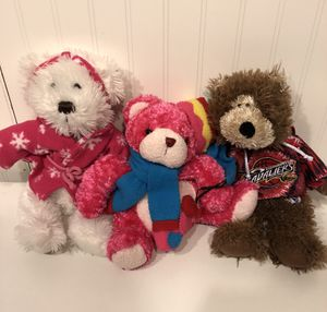 Lot of 3 Teddy Bears 🐻 for Sale in Columbus, OH