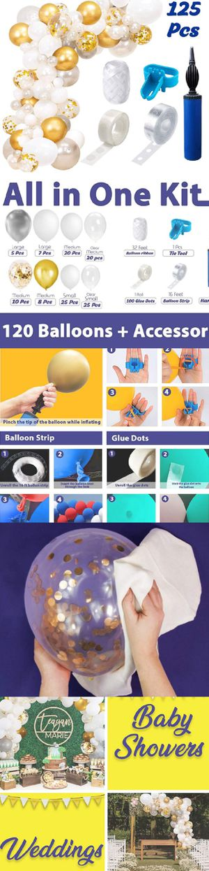 16 ft Balloon garland and arch kit | 120 Balloons for Sale in Los Angeles, CA