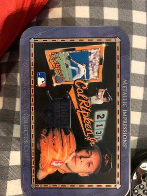 Baseball cards embossed cal Ripken jr for Sale in Orlando, FL