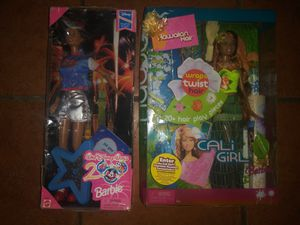 Two collectible limited edition Mattel Barbie dolls new in box for Sale in Hawthorne, CA