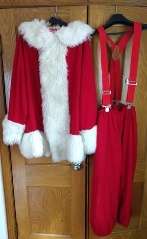 Authentic Santa Claus Costume W/Gift Sack for Sale in Damascus, MD