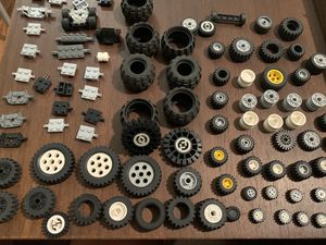 Lego Rubber Wheels axles for Sale in Oregon City, OR