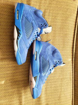 Air Jordan 5 Retro *Blue Suede* (Size 13) for Sale in Garner, NC