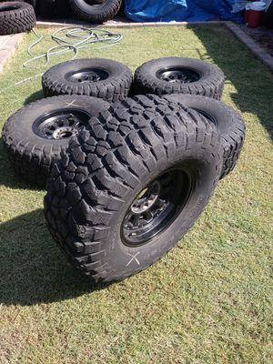 2007 jeep wrangler rims & tires for Sale in Glendale, AZ