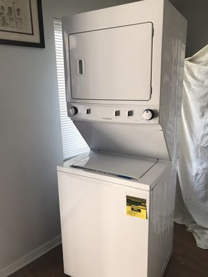 Stackable washer and electric dryer for sale by owner for Sale in Tampa, FL