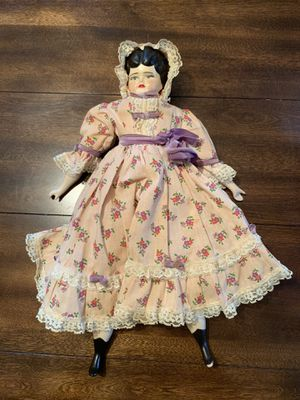 Antique German Fully Clothed Porcelain Doll for Sale in Colonial Heights, VA