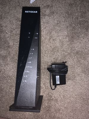 Netgear C6300 Modem And Router Combo for Sale in Redwood City, CA