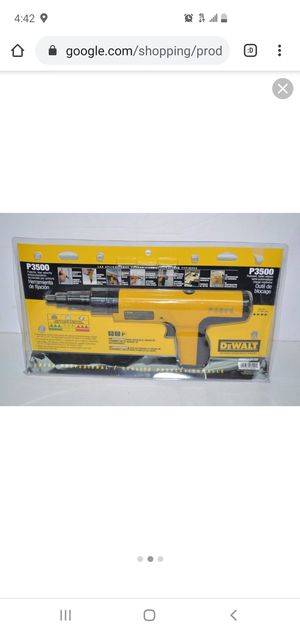 Dewalt concrete gun for Sale in Chicago, IL