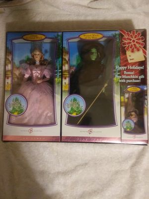 Wizard of Oz collection by Barbie for Sale in Pamplin, VA