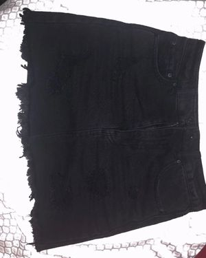 Black Denim skirt for Sale in Whittier, CA