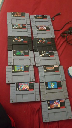 Super Nintendo games for Sale in Orlando, FL