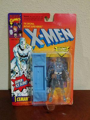 Iceman Super Slide X-Men Marvel Comics ToyBiz RARE VINTAGE COLLECTABLE Action Figure for Sale in Thonotosassa, FL